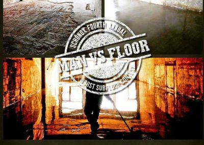 Man Vs. Floor